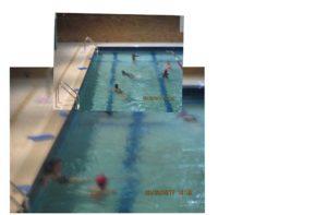 enfants a la piscine